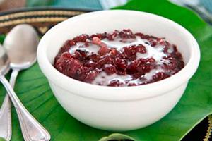 Black-Sticky-Rice-Pudding